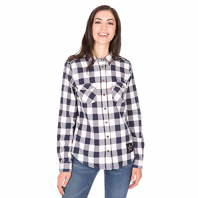 Dallas Cowboys Levi's Womens Buffalo Western Shirt