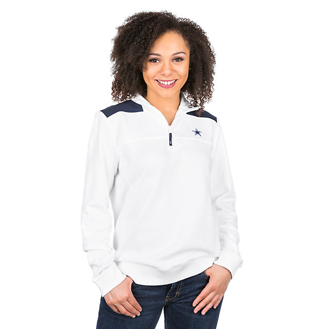 Dallas Cowboys Vineyard Vines Womens Colorblock Shep Shirt