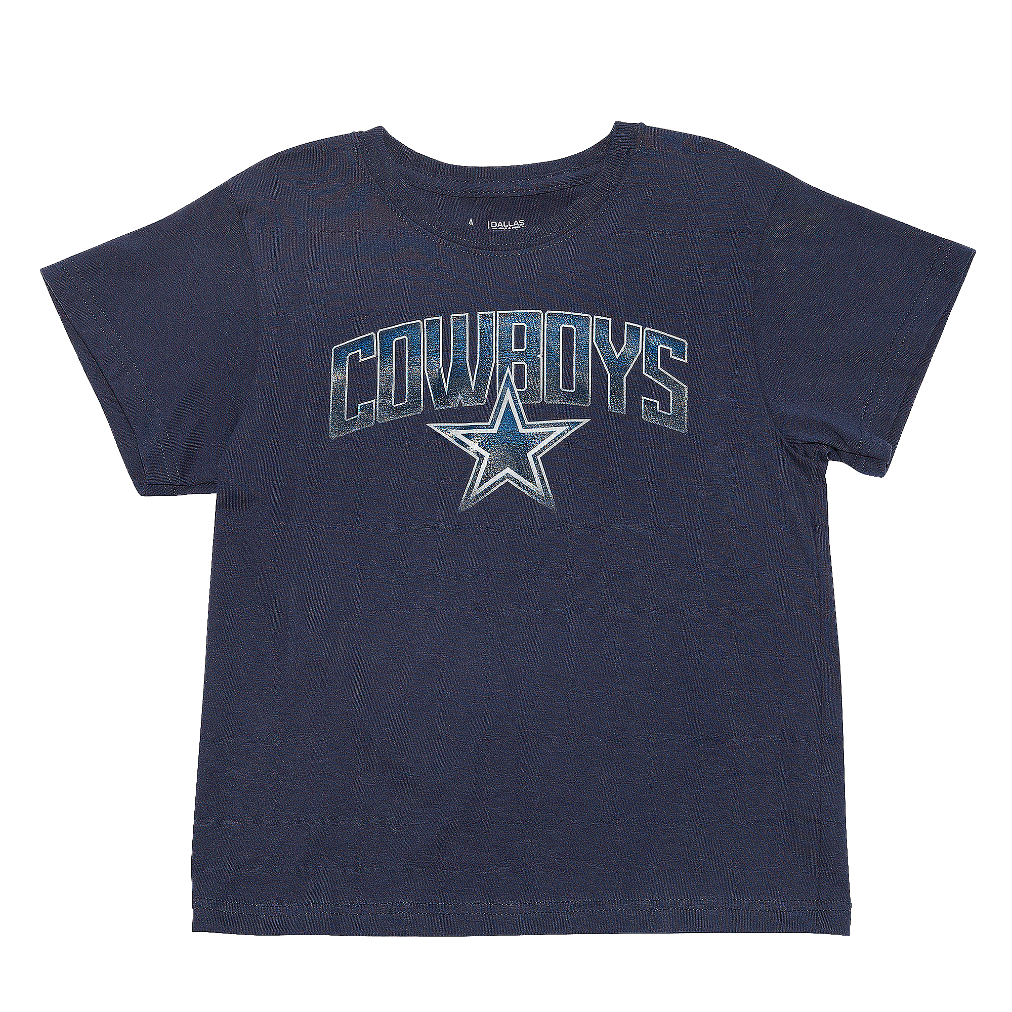 Dallas Cowboys Kids Rescender Wave Short Sleeve Tee