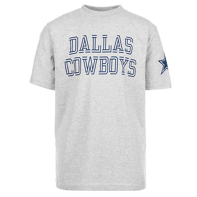 Dallas Cowboys Youth Double Cut Short Sleeve Tee