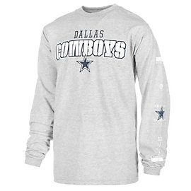 Dallas Cowboys Youth Brink Long Sleeve Tee