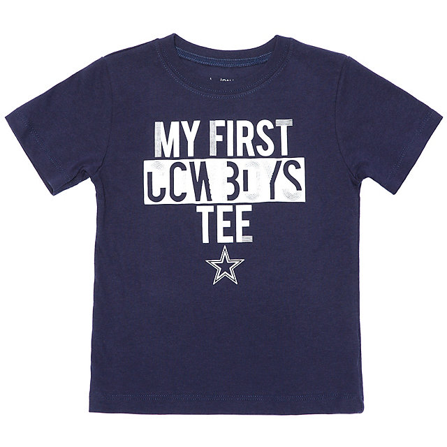 Dallas Cowboys Toddler Firstie Tee