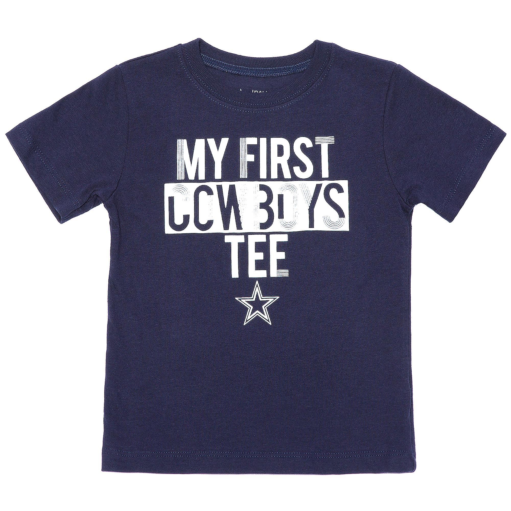 Dallas Cowboys Toddler Firstie Tee