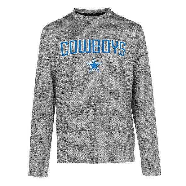 Dallas Cowboys Shock Youth Purlington Long Sleeve T-Shirt
