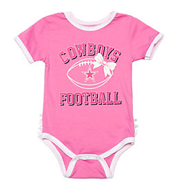 Dallas Cowboys Infant Grace Tutu Bodysuit