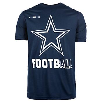Dallas Cowboys Nike Youth Legend Football Tee