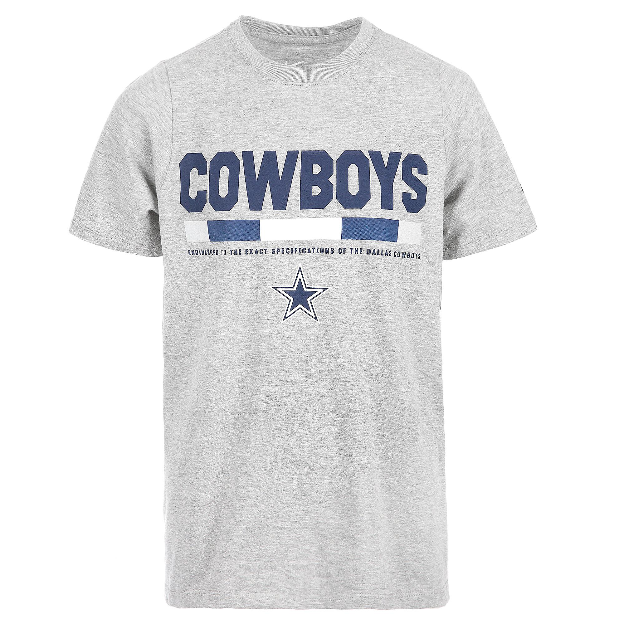 Dallas Cowboys Nike Youth Staff Short Sleeve Tee