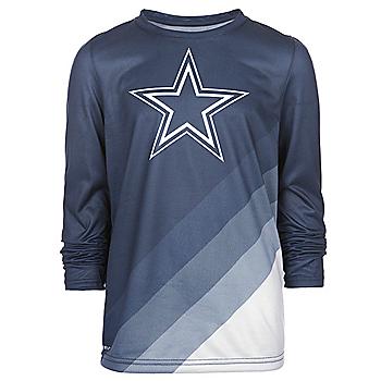 Dallas Cowboys Nike Youth Legend Prism Long Sleeve Tee