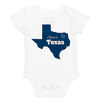 Dallas Cowboys Infant Backyard Onesie