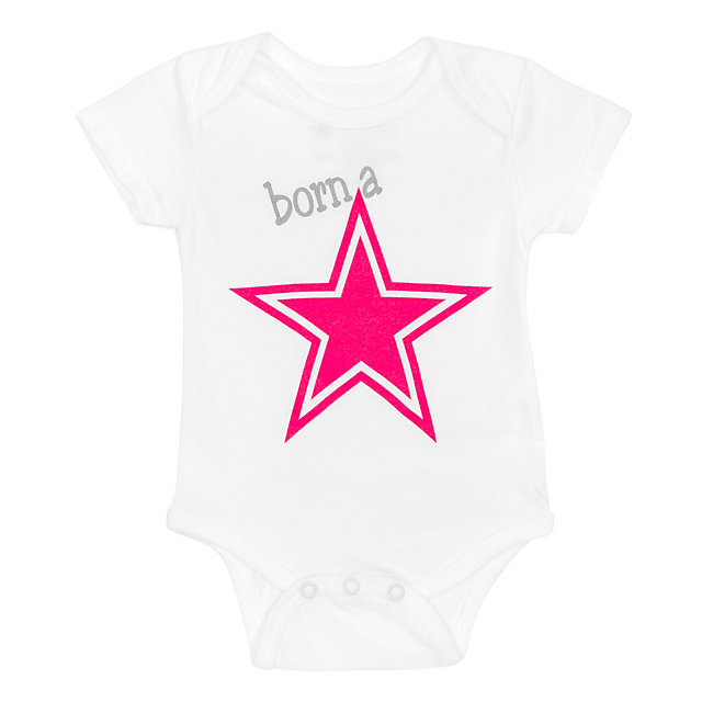 Dallas Cowboys Infant Born A Star Bodysuit