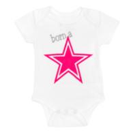 Dallas Cowboys Infant Born A Star Bodysuit