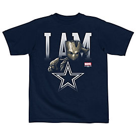 Dallas Cowboys MARVEL Toddler Lil Groot Tee