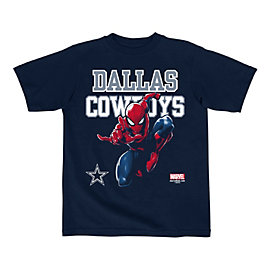 Dallas Cowboys MARVEL Kids Practice Spidey Tee