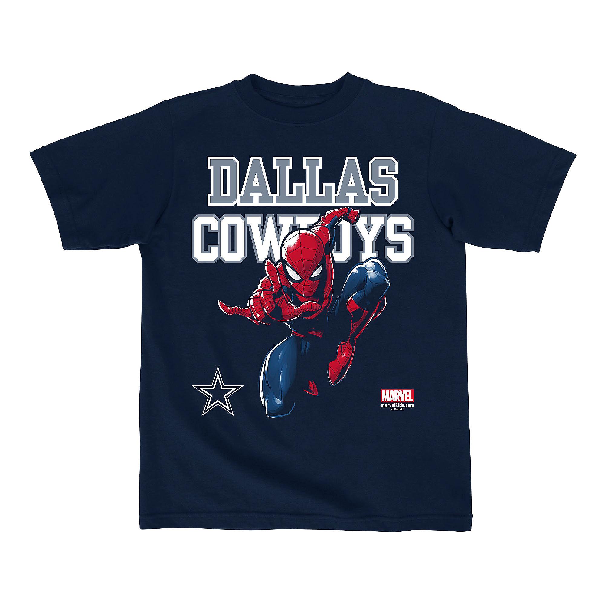 Dallas Cowboys MARVEL Kids Practice Spidey Tee