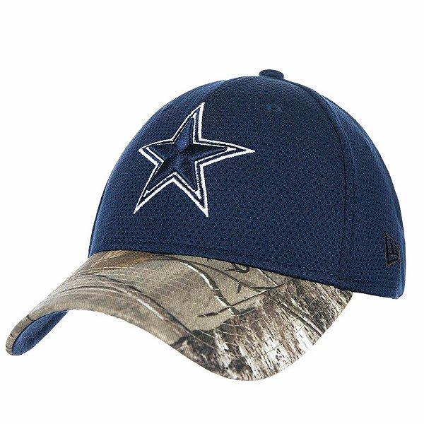 Dallas Cowboys New Era Realtree Performance 39Thirty Cap