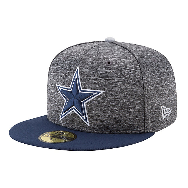 Dallas Cowboys New Era Shadow Tagged 59Fifty Cap