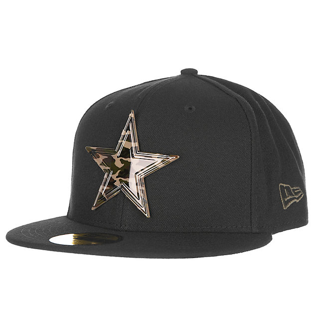 Dallas Cowboys New Era Camo Badge 59Fifty Cap