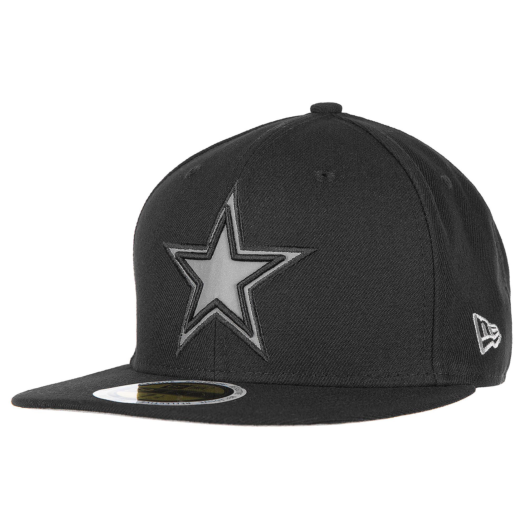 Dallas Cowboys New Era Flected Team Trim 59Fifty Cap