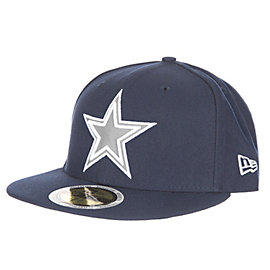 Dallas Cowboys New Era Flected Team Trim 59Fifty Cap
