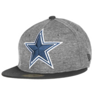 Dallas Cowboys New Era Heather Huge Fitted 59Fifty Cap