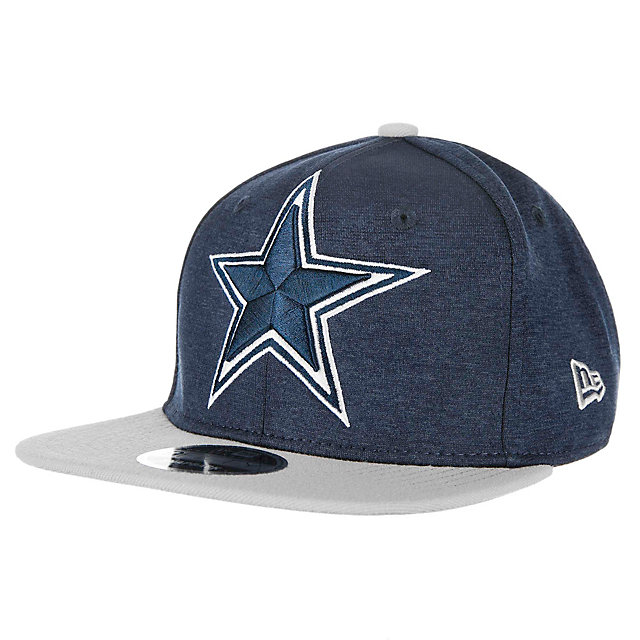 Dallas Cowboys New Era Heather Huge Snap 9Fifty Cap