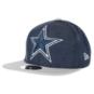 Dallas Cowboys New Era Heather Huge Snap 9Fifty Cap
