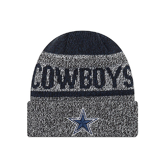 Dallas Cowboys New Era Layered Chill Knit Hat