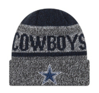 Dallas Cowboys New Era Layered Chill Knit Hat