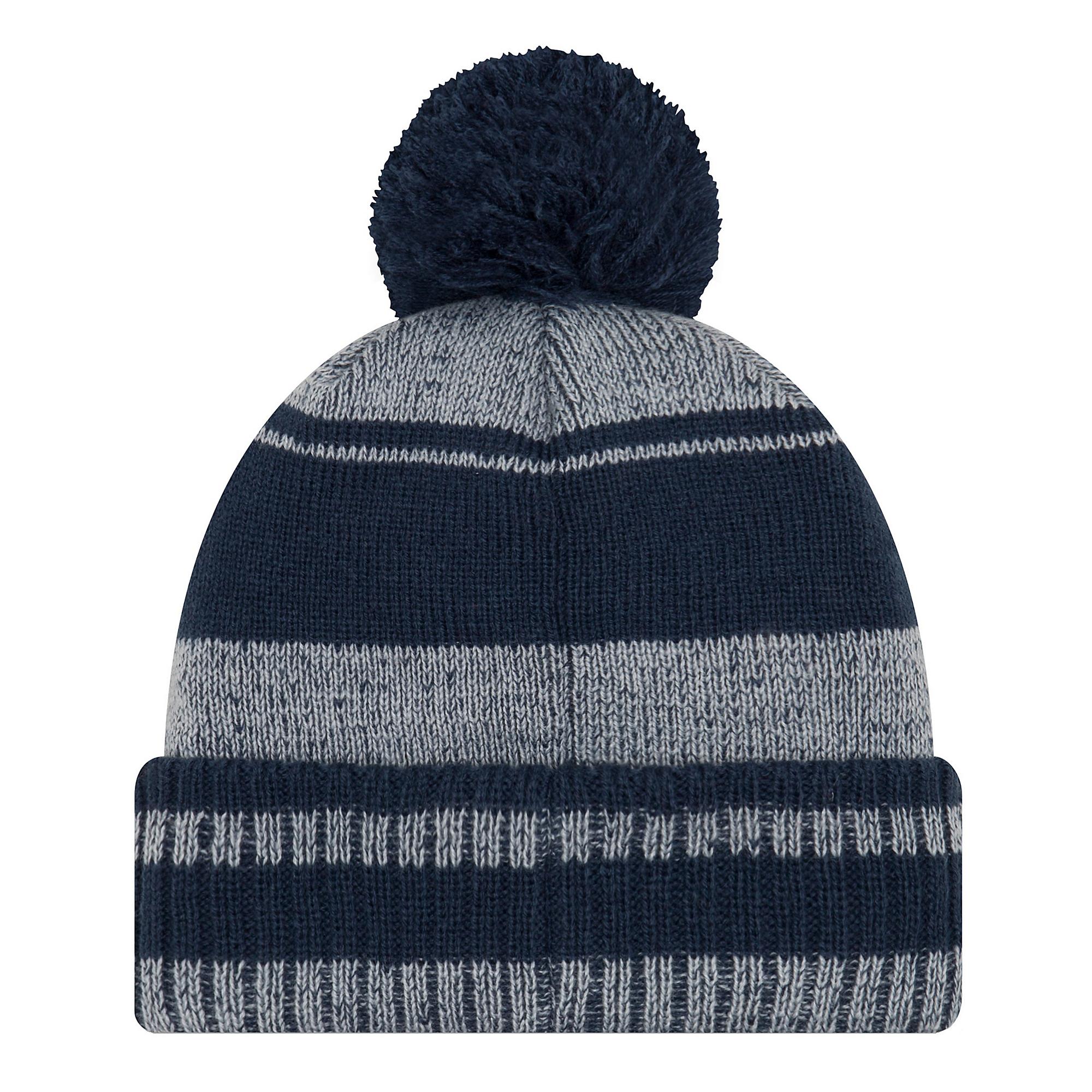 df80fc226 Dallas Cowboys New Era Glacial Pom Knit Hat | Dallas Cowboys Pro Shop