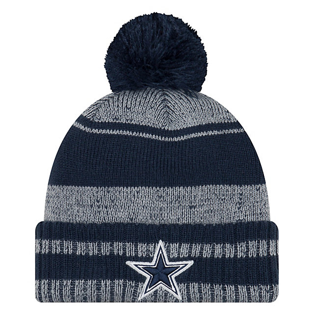 Dallas Cowboys New Era Glacial Pom Knit Hat