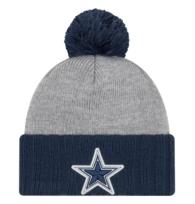 Dallas Cowboys New Era Flected Frost Knit Hat
