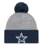 Dallas Cowboys New Era Flected Frost Knit Hat