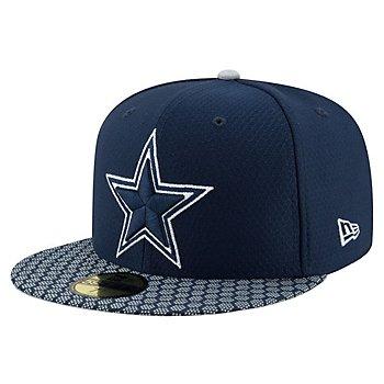 Dallas Cowboys New Era Mens Sideline 59Fifty Hat