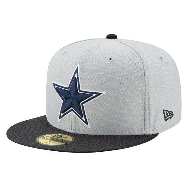Dallas Cowboys New Era Fan Gear Sideline 59Fifty Cap