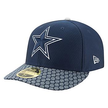 Dallas Cowboys New Era Mens Sideline Low Profile 59Fifty Hat