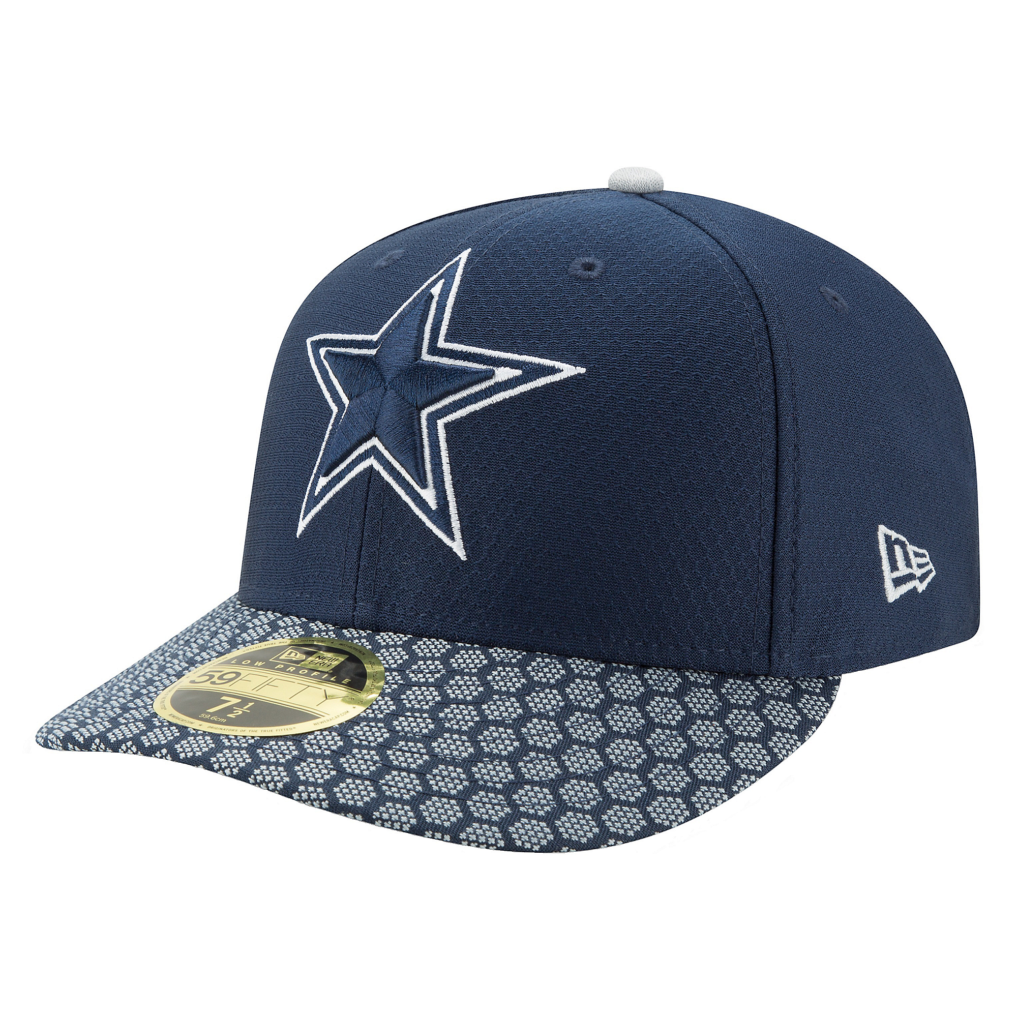 Dallas Cowboys New Era Mens Sideline Low Profile 59Fifty Hat