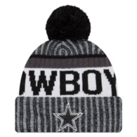 Dallas Cowboys New Era Sideline Fan Gear Sport Knit Hat
