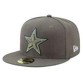 Dallas Cowboys New Era Salute to Service On Field 59Fifty Cap