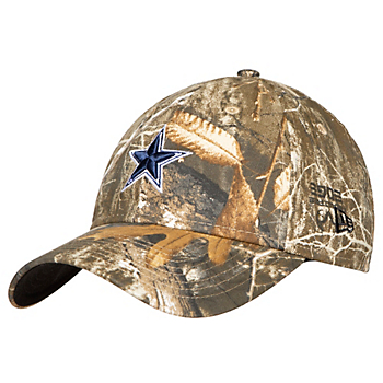 Dallas Cowboys New Era Womens Realtree Camo 9Twenty Cap