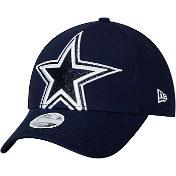 Dallas Cowboys New Era Womens Glitter Glam 3 Cap