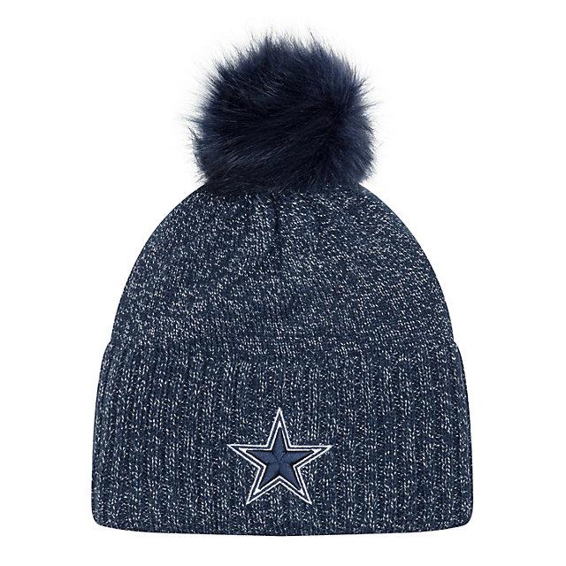 Dallas Cowboys New Era Dazzle 2 Knit Hat