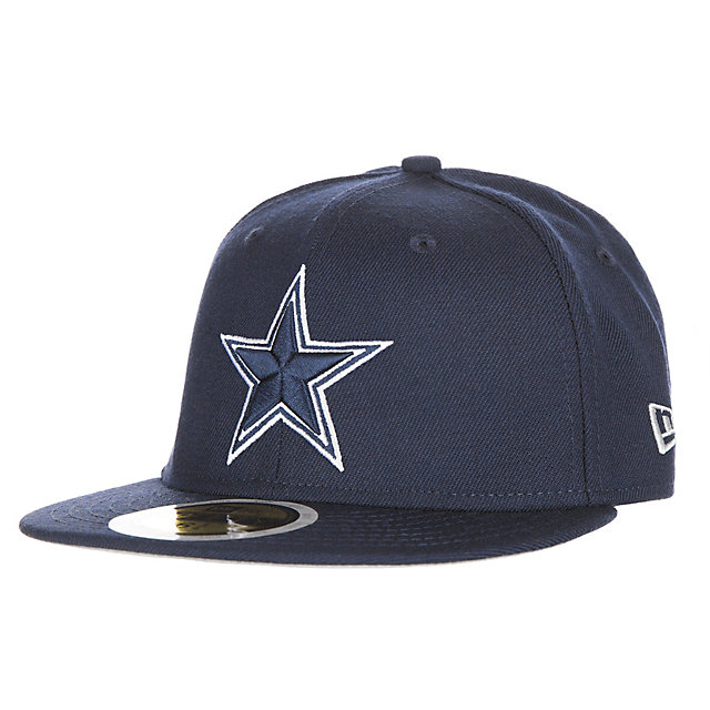 Dallas Cowboys New Era Jr Wool Standard 2 59Fifty Cap
