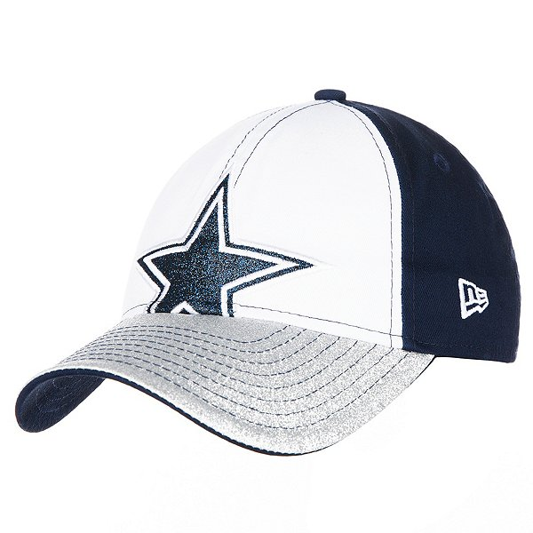 Dallas Cowboys New Era Jr Girls Shimmer Shine 9Forty Hat
