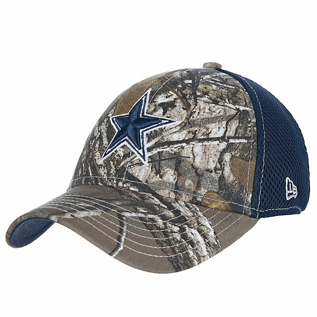 Dallas Cowboys New Era Jr Realtree Neo 39Thirty Cap