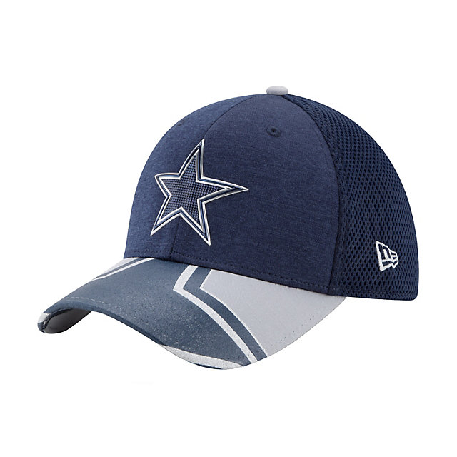 Dallas Cowboys New Era 2017 Draft Jr Onstage 39Thirty Cap