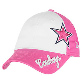 Dallas Cowboys New Era Jr Glitter Sweep 9Twenty Cap