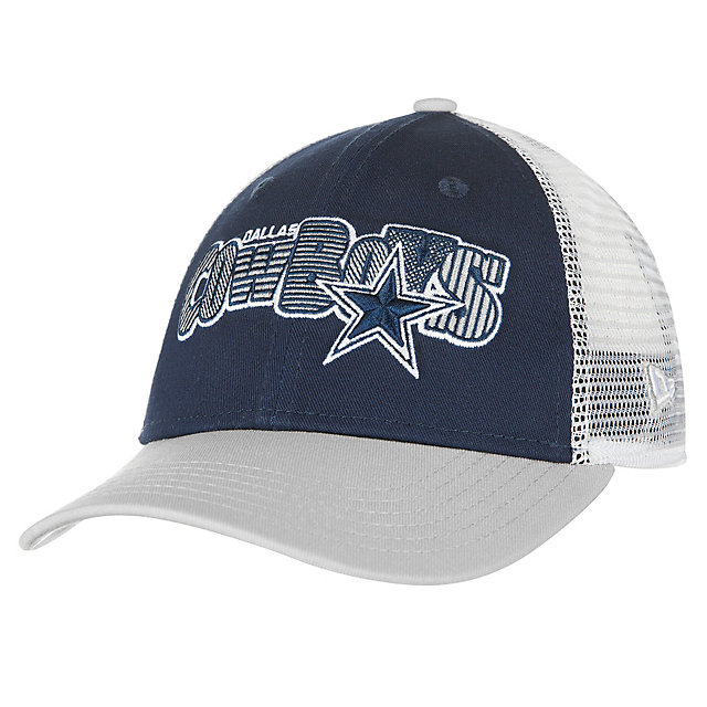 Dallas Cowboys New Era Jr Trucker Joy 9Forty Cap