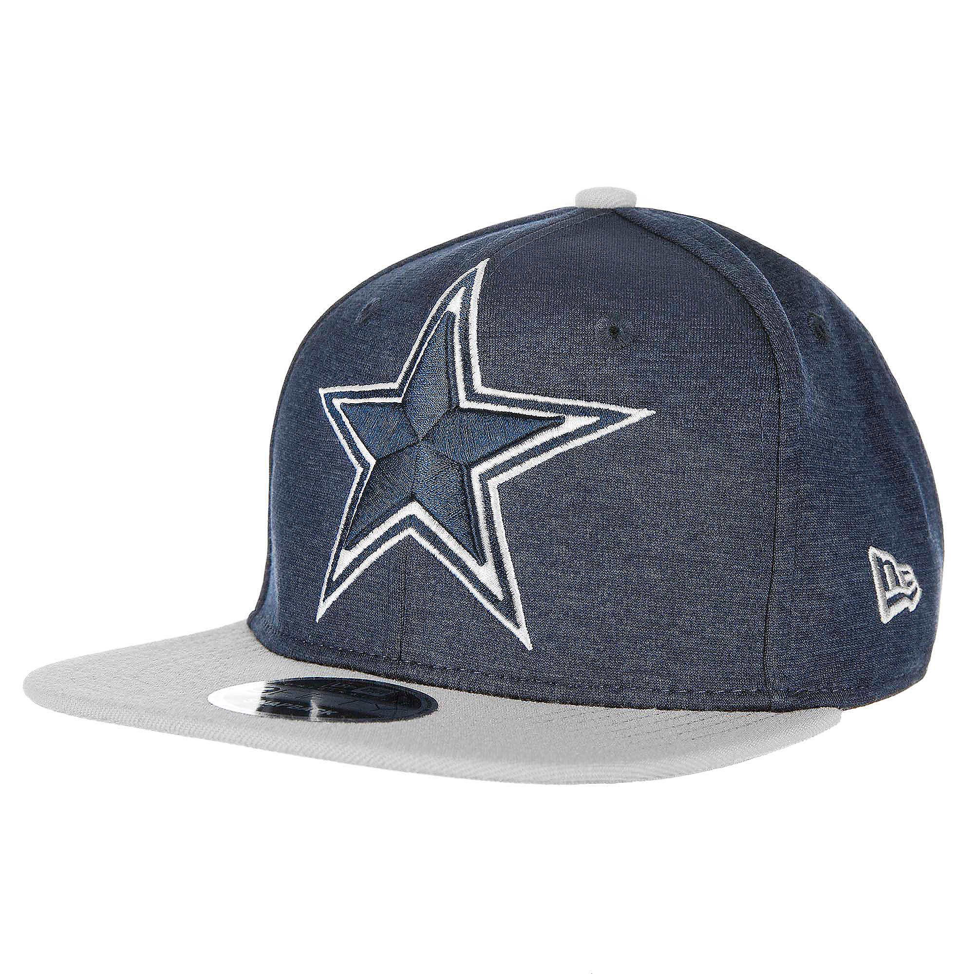 Dallas Cowboys New Era Youth Heather Huge Snap 9Fifty Cap