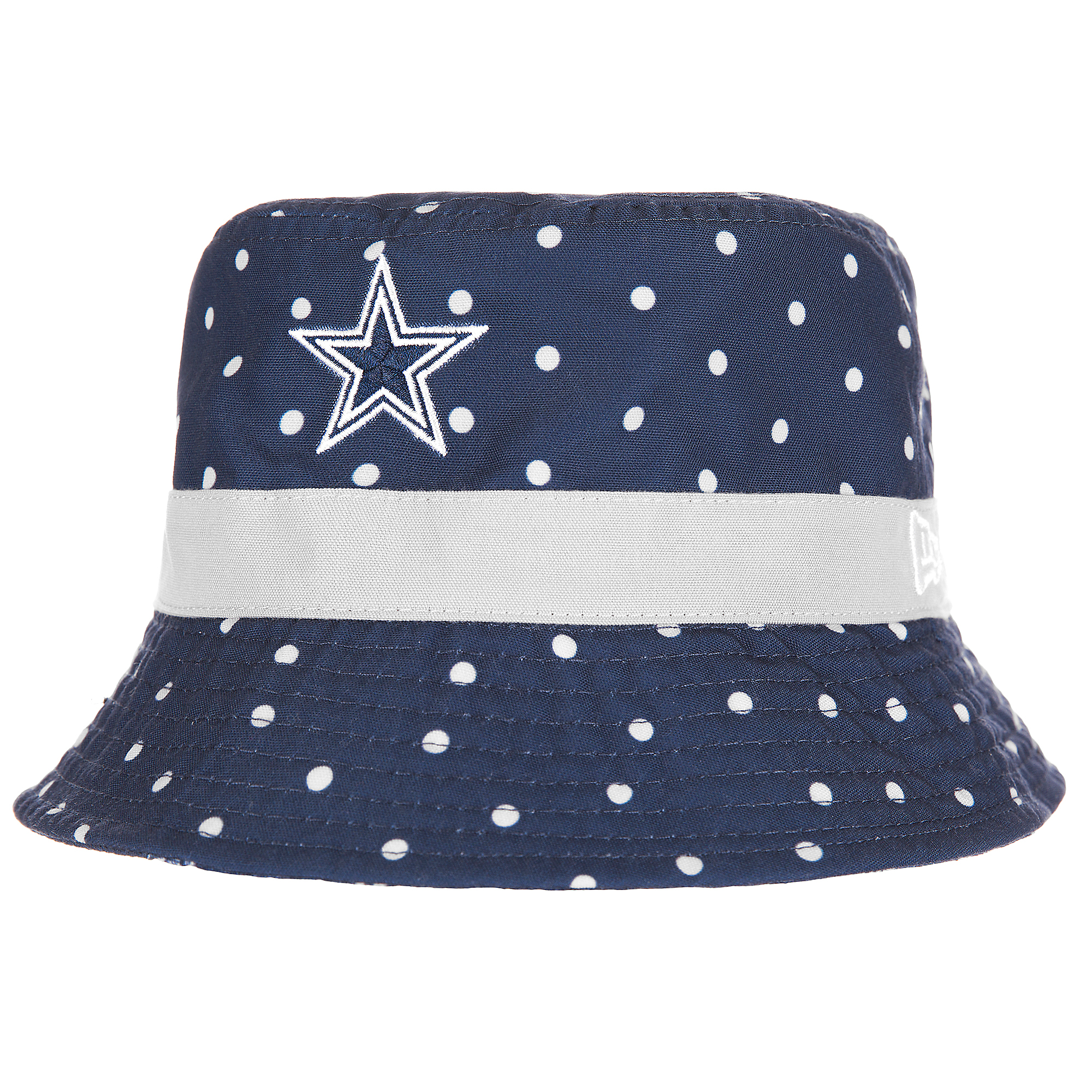 82ad1ae675175 Dallas Cowboys New Era Dotted Bucket Hat