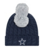Dallas Cowboys New Era Youth Pom Quad 2 Knit Hat